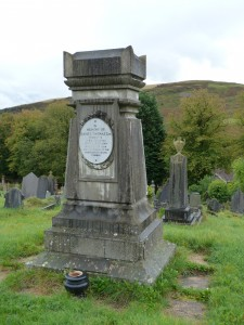 In the cemetery ay Trealaw, Tonypandy